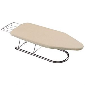 Elegant Household Essentials 131200 Chrome Tabletop Mini Ironing Board