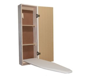 With A Built In Ironing Board Cabinet You Do Not Have To Worry About Leaving An The Open And Taking Up Little E Your Apartment