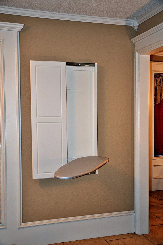 Double Panel Door Ironing Board By Slide Away