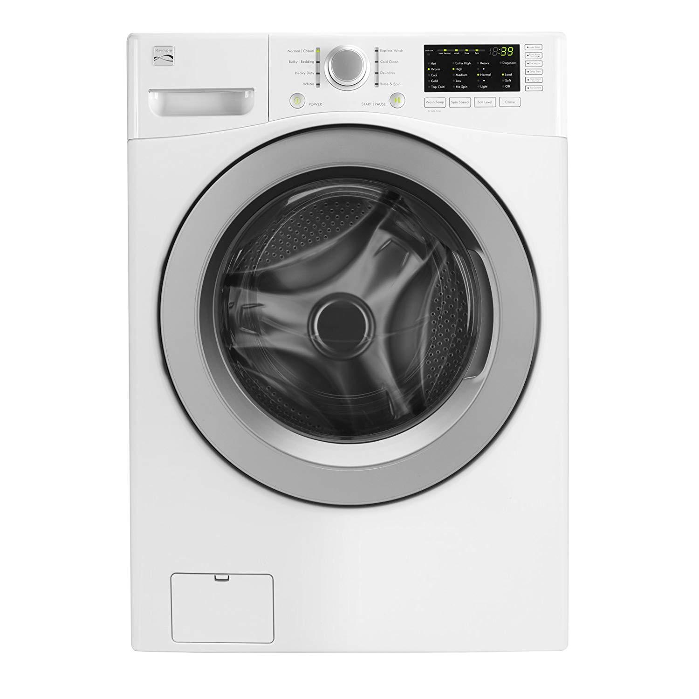 Kenmore Front Loading Washer Washing Machine Ironing